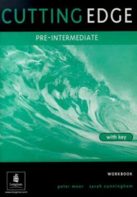 Робочий зошит Cutting Edge Pre-Intermediate Workbook With Key