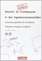 Робочий зошит DaF in den Ingenieurwissenschaften Buch mit CD-ROM