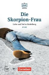 DaF-Krimis: A1/A2 Die Skorpion-Frau mit MP3-Audios als Download - фото обкладинки книги