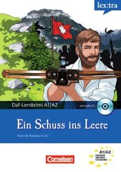 DaF-Krimis: A1/A2 Ein Schuss ins Leere mit Audio CD - фото обкладинки книги
