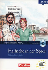 DaF-Krimis: A1/A2 Haifische in der Spree mit Audio CD - фото обкладинки книги