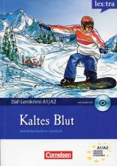 DaF-Krimis: A1/A2 Kaltes Blut mit Audio CD - фото обкладинки книги
