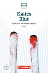 DaF-Krimis: A1/A2 Kaltes Blut mit MP3-Audios als Download - фото обкладинки книги