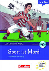 DaF-Krimis: A1/A2 Sport Ist Mord mit Audio CD - фото обкладинки книги