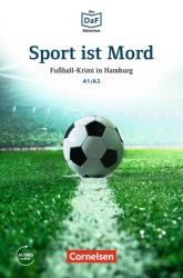 DaF-Krimis: A1/A2 Sport ist Mord mit MP3-Audios als Download - фото обкладинки книги