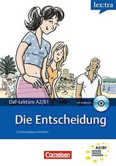 DaF-Krimis: A2/B1 Die Entscheidung mit Audio CD - фото обкладинки книги