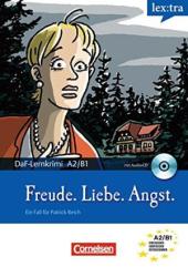 DaF-Krimis: A2/B1 Freude, Liebe, Angst mit Audio CD - фото обкладинки книги