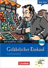 DaF-Krimis: A2/B1 Gefahrlicher Einkauf mit Audio CD - фото обкладинки книги