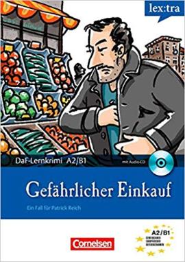 DaF-Krimis: A2/B1 Gefahrlicher Einkauf mit Audio CD - фото книги