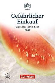 DaF-Krimis: A2/B1 Gefhrlicher Einkauf mit MP3-Audios als Download - фото книги