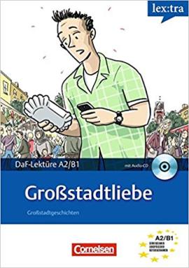 DaF-Krimis: A2/B1 Grossstadtliebe mit Audio CD - фото книги