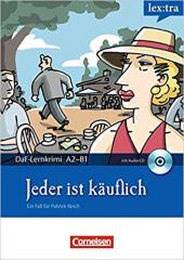 DaF-Krimis: A2/B1 Jeder ist kauflich mit Audio CD - фото обкладинки книги