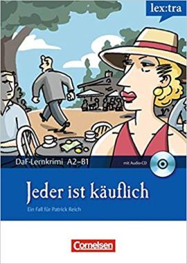 DaF-Krimis: A2/B1 Jeder ist kauflich mit Audio CD - фото книги