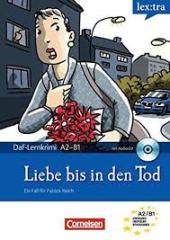 DaF-Krimis: A2/B1 Liebe bis in den Todmit Audio CD - фото обкладинки книги