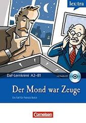 DaF-Krimis: A2/B1 Mond Zeuge mit Audio CD - фото обкладинки книги