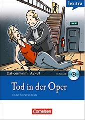 DaF-Krimis: A2/B1 Tod in der Oper mit Audio CD - фото обкладинки книги