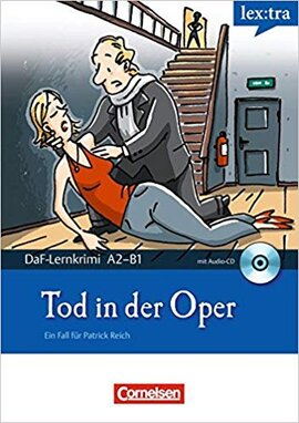 DaF-Krimis: A2/B1 Tod in der Oper mit Audio CD - фото книги