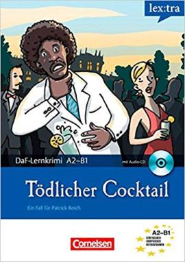 DaF-Krimis: A2/B1 Todlicher Cocktail mit Audio CD - фото книги