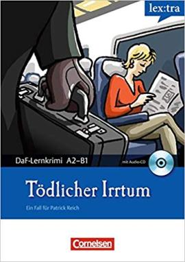 DaF-Krimis: A2/B1 Todlicher Irrtummit Audio CD - фото книги