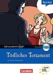DaF-Krimis: A2/B1 Todliches Testament mit Audio CD - фото обкладинки книги