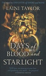 Days of Blood and Starlight : The Sunday Times Bestseller. Daughter of Smoke and Bone Trilogy Book 2 - фото обкладинки книги