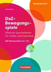 DaZ-Bewegungsspiele A1-C2 - фото обкладинки книги
