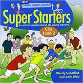 Delta Young Learner's Super Starter English Audio CD Pack (2) (Delta Young Learners English) - фото обкладинки книги