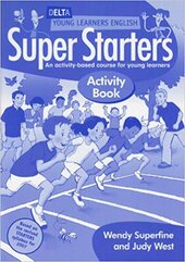 Delta Young Learners English: Super Starters Activity Book - фото обкладинки книги