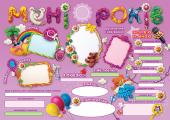 День народження — чарівні спогади на все життя! Дівчинці. - фото обкладинки книги