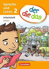 Der die das 2. Arbeitsheft Lesen (дод.читанка + вправи) - фото обкладинки книги