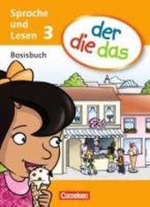 Der die das - Basisbuch Sprache und Lesen 3 - фото обкладинки книги