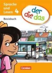 Der die das - Basisbuch Sprache und Lesen 4 - фото обкладинки книги