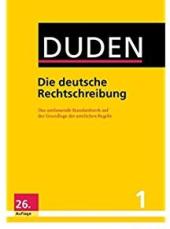 Der Duden in 12 Banden: 1 - Die deutsche Rechtschreibung - фото обкладинки книги
