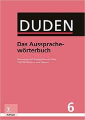 Der Duden in 12 Banden: 6 - Das Aussprachewrterbuch - фото обкладинки книги