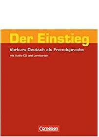 Підручник Der Einstieg Vorkurs DaF mit Audio CD und Lernkartern