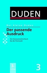 Der kleine Duden 3 - Der passende Ausdruck - фото обкладинки книги