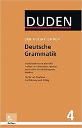 Der kleine Duden 4 - Deutsche Grammatik - фото обкладинки книги