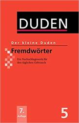 Der kleine Duden 5 - Fremdwrter - фото обкладинки книги
