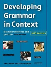 Developing Grammar in Context Intermediate with Answers : Grammar Reference and Practice - фото обкладинки книги