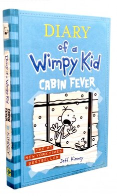 Diary of a Wimpy Kid. Cabin Fever. Book 6 - фото книги