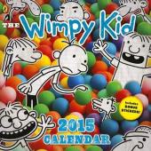 Diary of a Wimpy Kid calendar 2015 - фото обкладинки книги