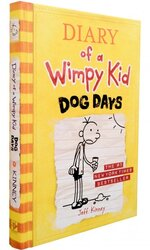 Diary of a Wimpy Kid. Dog Days. Book 4 - фото обкладинки книги