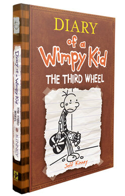 Diary of a Wimpy Kid. The Third Wheel. Book 7 - фото книги