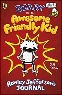 Diary of an Awesome Friendly Kid : Rowley Jefferson's Journal - фото книги