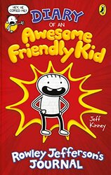 Diary of an Awesome Friendly Kid: Rowley Jefferson's Journal - фото обкладинки книги
