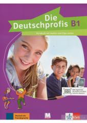 Die Deutschprofis B1 Kursbuch mit Audios und Clips online - фото обкладинки книги