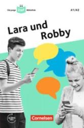 Die junge DaF-Bibliothek A1/A2 - Lara und Robby: Eine Messenger-Geschichte. Lektre mit Audios online - фото обкладинки книги
