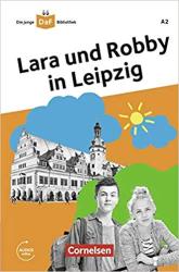 Die junge DaF-Bibliothek A2. Lara und Robby in Leipzig - фото обкладинки книги