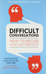 Difficult Conversations: How to Discuss What Matters Most - фото обкладинки книги