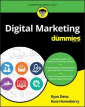 Digital Marketing For Dummies - фото обкладинки книги